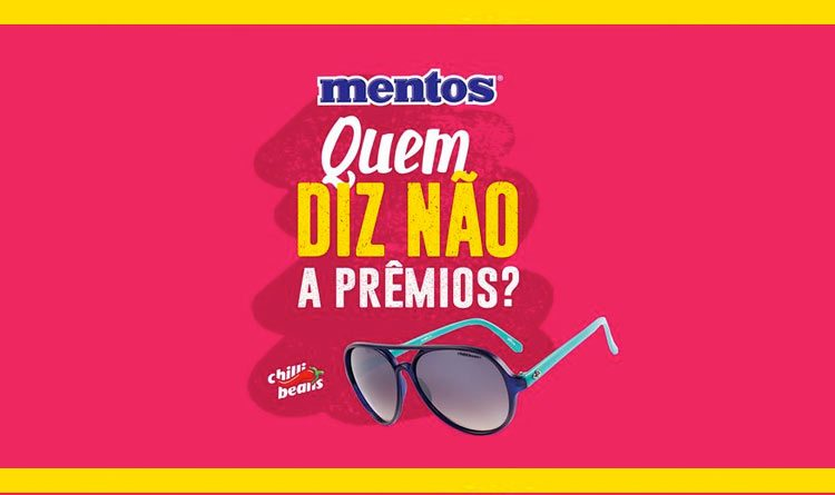Mentos lança promoção conjunta com a Chilli Beans - Newtrade ef60ea58b1
