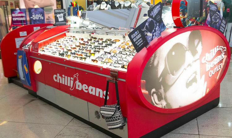 773cfaf58011f Chilli Beans planeja atingir 1200 pontos de venda - Newtrade